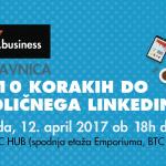 Y.business delavnica: V 10 korakih do odličnega LinkedIn profila