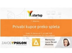 Y.startup delavnica: Privabi kupce preko spleta