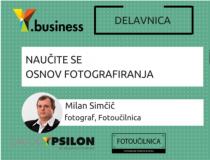 Y.business: Naučite se osnov fotografiranja