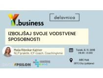 Y.business: Izboljšaj svoje vodstvene sposobnosti