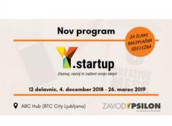 Y.startup program: Zasnuj, razvij in zaženi svojo idejo!